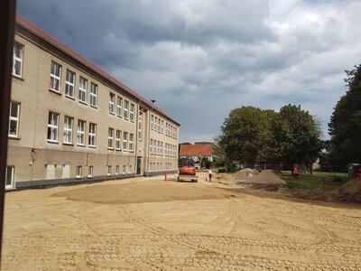 Fotoalbum Umgestaltung des Schulhofes