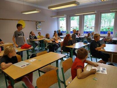 Fotoalbum Fahrradprüfung der Klasse 5 am 23.09.2020