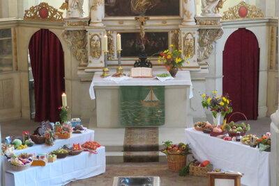 Fotoalbum Erntedankgottesdienst in der Stadtkirche