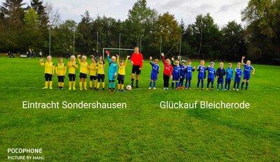 Fotoalbum F-Junioren Fair-Play-Liga BSV Eintracht Sondershausen II - SpG Bleicherode