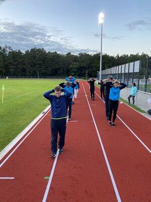 Fotoalbum Geher-Training bei der LLG