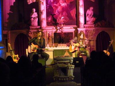 Fotoalbum Tino Standhaft & Norman Daßler - mit Interpretationen der Songs von Neil Young und eigenen Kreationen live in der Stadtkirche vor begeistertem Publikum gespielt