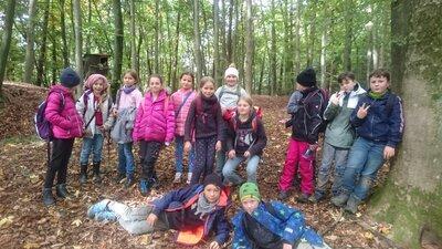 Fotoalbum Waldtag Klasse 4