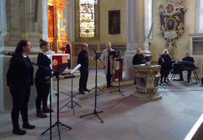 Fotoalbum Gospelgottesdienst zum Reformationstag mit Leipziger Sängerinnen und Sängern