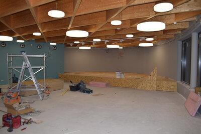 Fotoalbum Es geht voran! Baufortschritt unserer Aula.