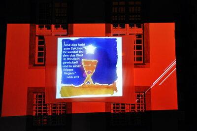 Fotoalbum Weihnachts-Projektion Immanuel-Kirche Hehlen