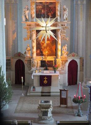 Fotoalbum Gottesdienst zum 4. Advent in der Stadtkirche