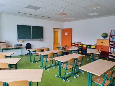 Fotoalbum Sanierte Schule- erste Ansichten
