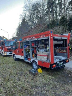 Fotoalbum Nachlöscharbeiten in Elisenfels