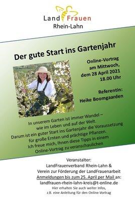 Fotoalbum Online Vortrag mit Heike Boomgaarden