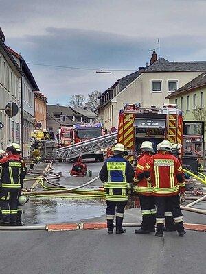 Fotoalbum Brand Thiersheim Burgstr.