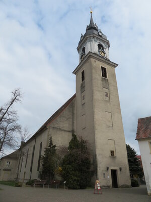 Fotoalbum Vorstellungsgottesdienst der diesjährigen Konfirmanden in der Pretzscher Kirche