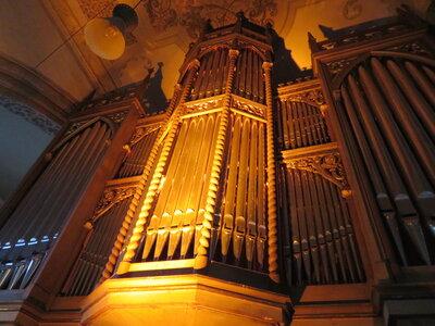 Fotoalbum Orgelvesper mit O.-B. Glüer (Orgel) & Jörg Hausmann (Saxophon / Klarinette) in der Bad Schmiedeberger Stadtkirche