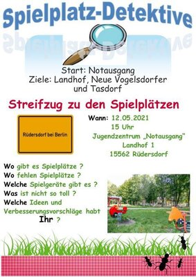 Fotoalbum Spielplatz Detektive