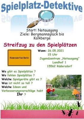 Fotoalbum Spielplatz-Detektive