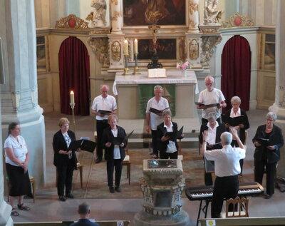 Fotoalbum Orgelvesper mit dem Kirchenchor unter Leitung von Kantor O.-B. Glüer