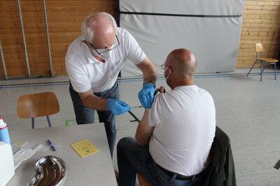 Fotoalbum Mobile Impfaktion in der Gemeinde Prackenbach