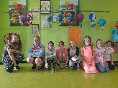 Fotoalbum Ausstellung Heißluftballons Kl. 3b