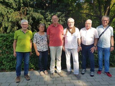 Fotoalbum Konstituierung Seniorenrat 20.07.2021