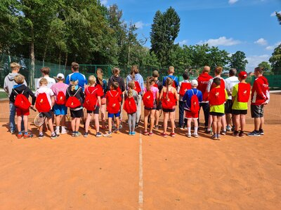 Fotoalbum Tenniscamp 2021