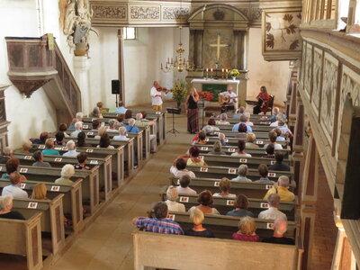Fotoalbum The String Company aus Erfurt - wiederholt zu Gast in der Reinharzer Kirche vor begeistertem Publikum
