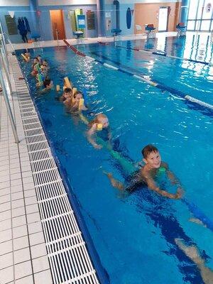 Fotoalbum Schwimmunterricht unserer Viertklässler