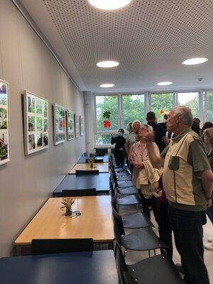 Fotoalbum Eröffnung der Fotoausstellung