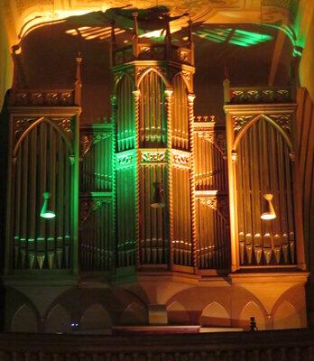 Fotoalbum Die 14. Bad Schmiedeberger Orgelnacht mit Otto-B. Glüer (Orgel), Wolfgang Praetorius (Violoncello), Joe Kučera (Saxophon), Carlos Mires (Gitarre), Lena Ruddies (Orgel), Frank Liebscher (Saxophone)