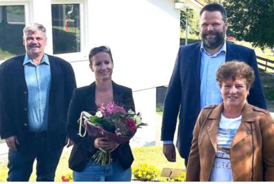 Fotoalbum Neue Rektorin Frau Rodea Fernández