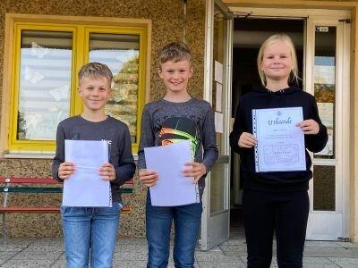 Fotoalbum Mathematikolympiade Und Vorlesewettbewerb
