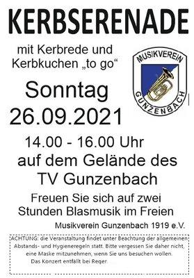 Kerb in Gunzenbach auf  TV Gelände
