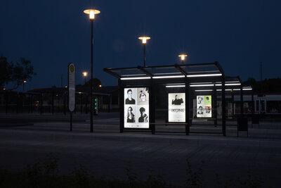 IKONE - Ausstellung am Bahnhof in Pritzwalk, Fotograf: Lars Schladitz