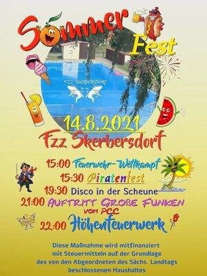 Sommerfest 14.08.2021 Piratenfest, Disko
