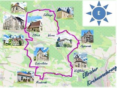 Ellricher Kirchenwanderweg - ausgeschildert