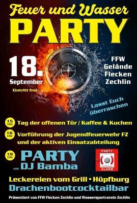 Feuer und Wasser - Party