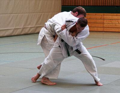 Die körperliche Auseinandersetzung beim Judo formt Körper und Geist