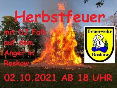 Herbstfeuer 2021