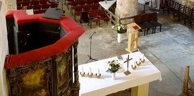 Herzliche Einladung zum Gottesdienst in Beelitz.