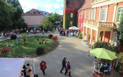 Schlossmarkt in Meyenburg