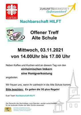 Einladung Offener Treff