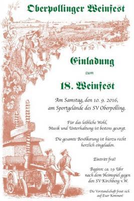 Fotoalbum Weinfest SVO