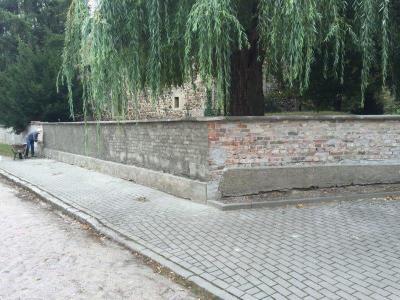 Fotoalbum Friedhofsmauer in Scheuder
