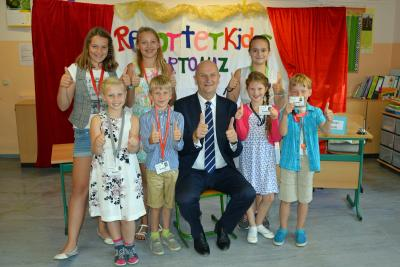 Fotoalbum Ministerpräsident Dr. Dietmar Woidke besuchte unsere Schule