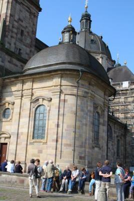 Fotoalbum Besuch aus Glossop - Fahrt nach Fulda
