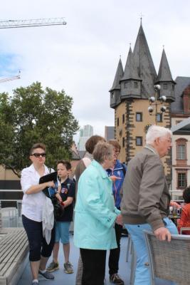 Fotoalbum Besuch aus Glossop - Schifffahrt auf dem Main