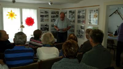 Fotoalbum Sitzung des Seniorenbeirates in Domsdorf mit Besichtigung und Vortrag