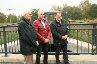 Fotoalbum Übergabe der Fischtreppe am Großen Fließ