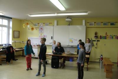 Fotoalbum Bilder vom 2. Probetag in der Schule