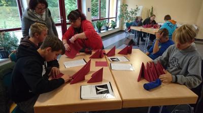 Fotoalbum Werkstatttage in Dargelütz, Klassen 8a/b