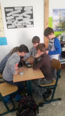 Fotoalbum Elektroniktag 6.Klasse der Evang. Grundschule Finsterwalde